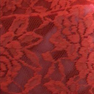 Lace dress (Orange)